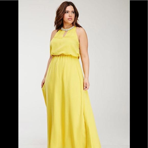 Forever 21 plus size Maxi dress 1X
